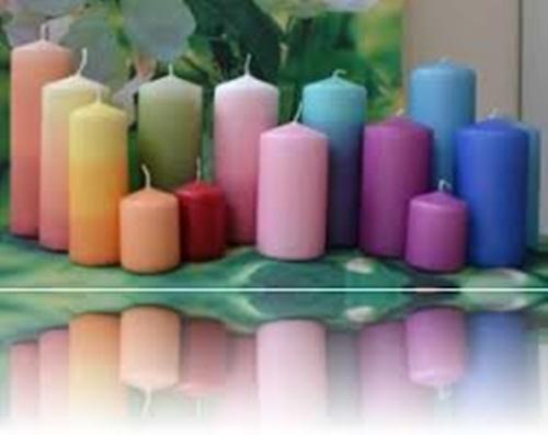 color de la vela