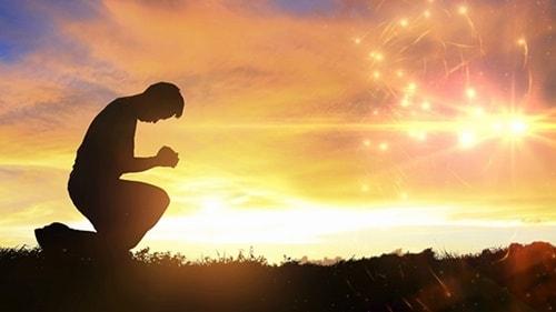 La preghiera di ringraziamento
