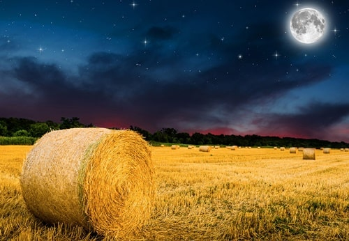 full moon of the harvest